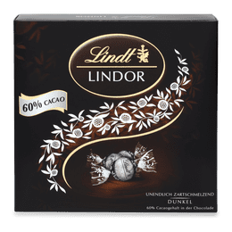 Lindor Präsent Box Dark 60%, 186g
