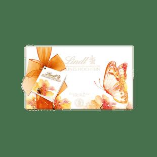 Pralinés Hochfein in Geschenkpapier Frühjahr, 200g