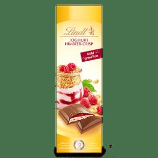 Lindt Joghurt Himbeer-Crisp 100g