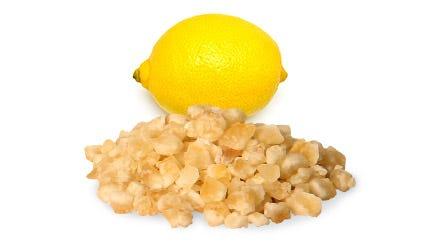 Kandierte Zitronenschalen