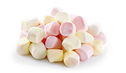 Marshmallows, Schaumzucker