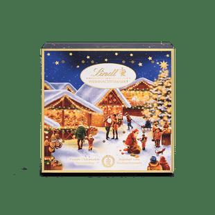 Weihnachtsmarkt Mini-Tisch-Kalender, 115g