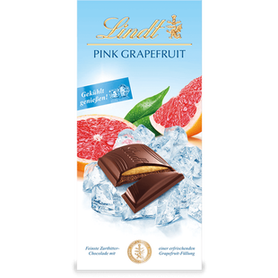 Erfrischende Tafel Pink Grapefruit, 150g