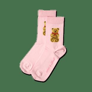 Teddy-Söckchen rosa, Größe 23 - 26