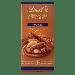 Weihnachts-Chocolade Mandel, 100g