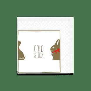 GOLDHASEN-Servietten
