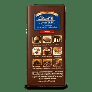 L'Universel Koch- und Backschokolade, 200g