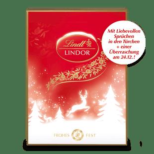 LINDOR Adventskalender, 290g