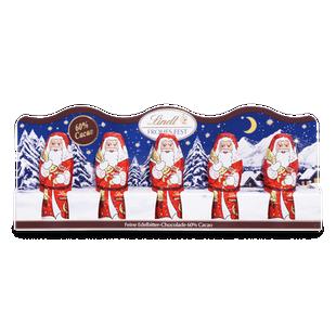 Mini-Weihnachtsmänner Edelbitter, 50g