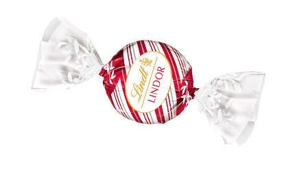 Lindor Kugel White Peppermint