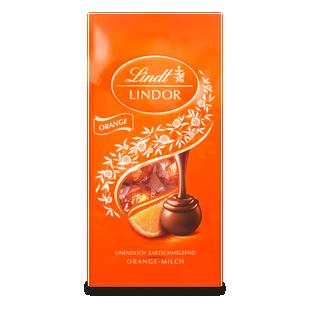 LINDOR Kugel Beutel Orange, 137g