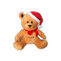 Großer Plüsch-TEDDY mit Weihnachtsmütze, 50cm