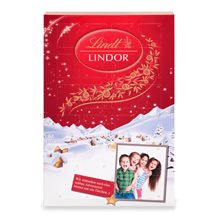 LINDOR Adventskalender, individualisiert