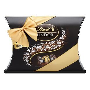 LINDOR Kissenpackung Extra Dark 70%, 322g