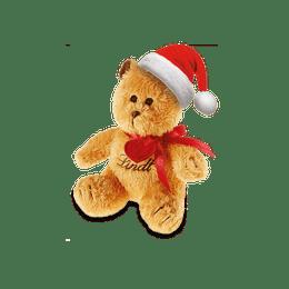 Mini Plüsch-TEDDY mit Weihnachtsmütze