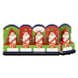 Mini-Weihnachtsmänner Vollmilch perforiert, 50g