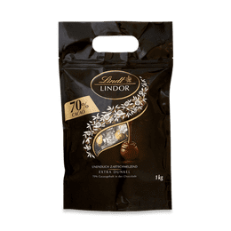 Lindor Kugel Beutel Extra Dark 70%, 1000g
