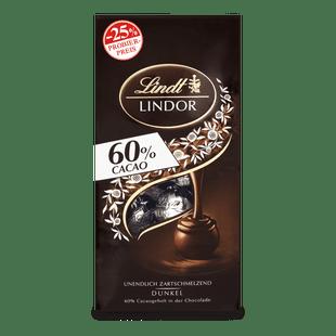 LINDOR Kugel Beutel Dark 60%, 136g (Aktion)
