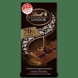 LINDOR Extra Dark 70%, 100g (Aktion)
