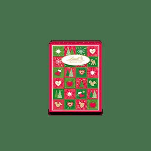 Frohes Fest Mini-Tisch-Adventskalender, 115g