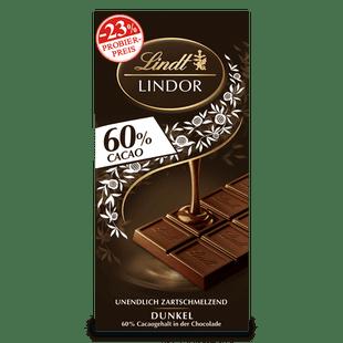 LINDOR Dark 60%, 100g (Aktion)